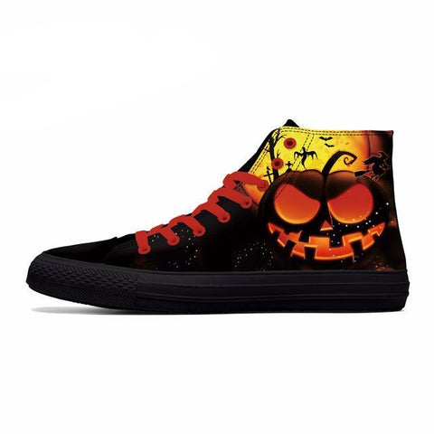 Series 4 Nice Halloween Themed High Top Shoes / 6 Variants-unisex-wanahavit-Style1-5-wanahavit