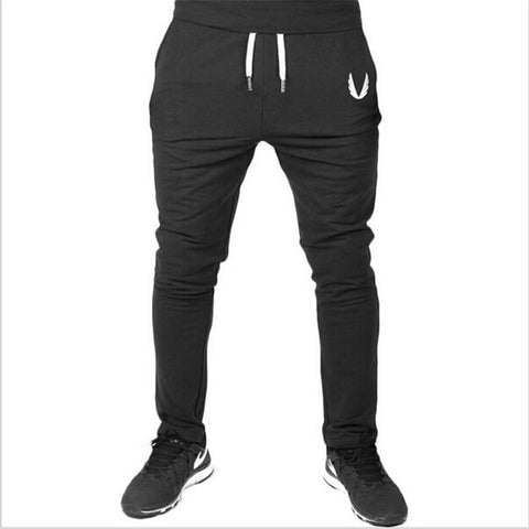 Elastic Fitness Workout Cotton Pants-men-wanahavit-Black-M-wanahavit