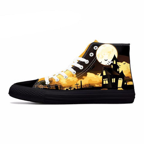 Series 2 Nice Halloween Themed High Top Shoes / 5 Variants