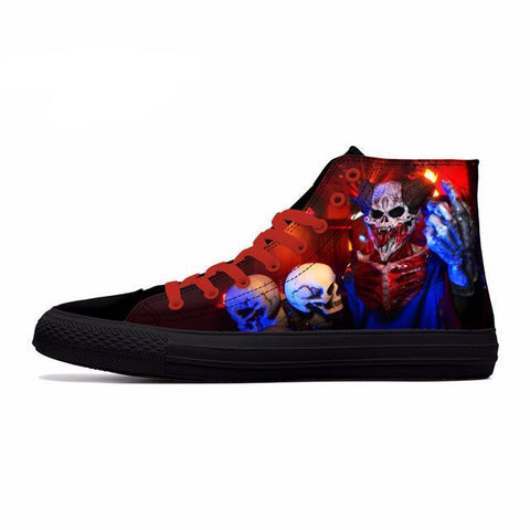 Series 1 Nice Halloween Themed High Top Shoes / 7 Variants-unisex-wanahavit-Style1-5-wanahavit