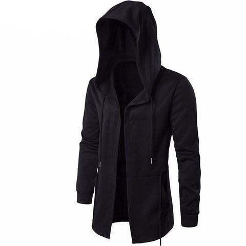 Black Gown Hip Hop Mantle Cloak Hoody