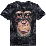 Summer Orangutan Pattern Casual T Shirt-men-wanahavit-M-wanahavit