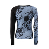 Camouflage Fitness Yoga Long Sleeve Shirt
