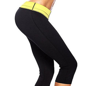 Neoprene Stretch Slimming Control Pants-women fitness-wanahavit-S-wanahavit
