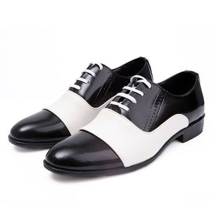 Autumn Fashion Patent Soft Leather Oxford Shoes-men-wanahavit-white-6-wanahavit