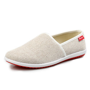 Breathable Hemp Summer Loafers Soft Shoes-unisex-wanahavit-beige-6.5-wanahavit