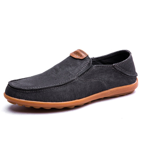 Summer Breathable Loafers Casual Boat Shoes-men-wanahavit-Grey Shoes-5.5-wanahavit