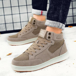 Winter Genuine Leather Casual Hip Hop Shoes With Fur-men-wanahavit-Khaki Casual Shoes-6-wanahavit
