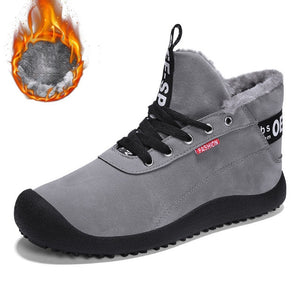 Winter Snow High Quality Lace Up Ankle Boots With Fur-men-wanahavit-Grey Snow Boots-11-wanahavit