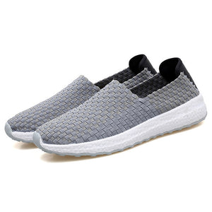 Woven Breathable Handmade Winter Shoes-unisex-wanahavit-Grey Shoes-6.5-wanahavit