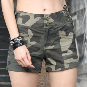Sexy High Waist Drawstring Military Camouflage Shorts-women-wanahavit-camo shorts-26-wanahavit