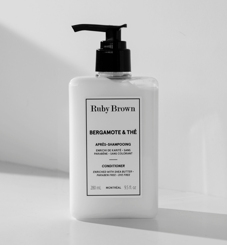 Duo shampooing et après-shampooing Bergamote & Thé