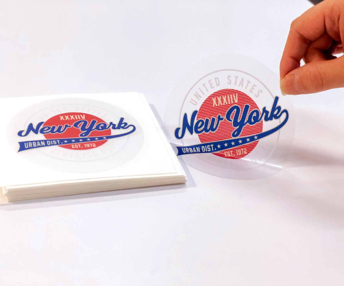 sticker cross is a leading manufacturer of custom vinyl stickers with no minimum orders free proof and fast turn around makes sticker cross a dream come - Custom Clear Stickers
