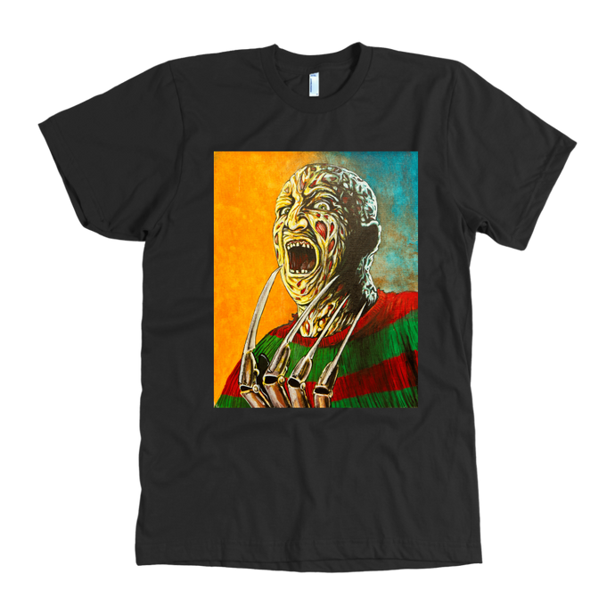 Freddy Krueger Inferno From Nightmare On Elm Street • Original Design By Joel Shelton • FREE Digital Horror Anthology Included With Purchase!!!