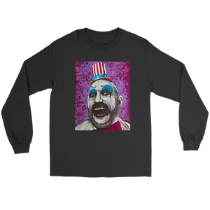 Captain Spaulding From House Of 1000 Corpses • Original Design By Joel Shelton • FREE Digital Horror Anthology Included With Purchase!!! - House Of 1000 T Shirts