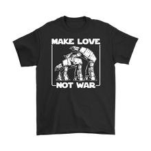 Make Love Not War AT-AT Style • Star Wars Parody