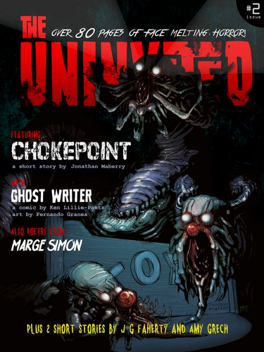 The Uninvited Magazine #2 • Digital Horror Magazine Featuring Original Art & Stories By Artists From Around The World