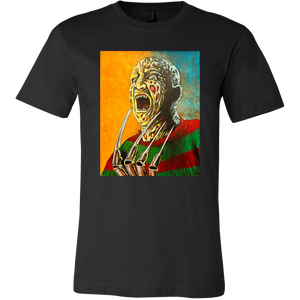 Freddy Krueger Inferno From Nightmare On Elm Street • Original Design By Joel Shelton • FREE Digital Horror Anthology Included With Purchase!!! - House Of 1000 T Shirts