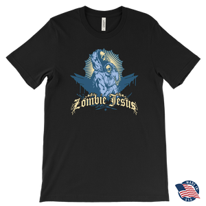 Zombie Jesus Virgin & Baby Hooded Skeletons • Original Design by TRUST36 • FREE Digital Horror Anthology Included With Purchase!!! - House Of 1000 T Shirts