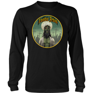 Zombie Jesus & His Undead Flock • Original Design by Tony Moore • FREE Digital Horror Anthology Included With Purchase!!! - House Of 1000 T Shirts