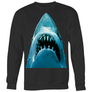Jaws Just The Shark From The Classic Cult Hit OVERSIZE PRINT - House Of 1000 T Shirts