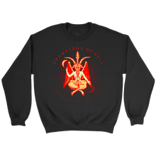 Baphomet Hellfire • Design By TRUST36 • Champions of Hell • FREE Digital Horror Anthology Included With Purchase!!! - House Of 1000 T Shirts