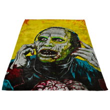 Bub From Day Of The Dead Fleece Blanket • Original Design By Joel Shelton • Classic 80s Horror - House Of 1000 T Shirts