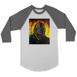 Jason On Fire From Friday The 13th Part VII • Original Design By Joel Shelton • FREE Digital Horror Anthology Included With Purchase!!! - House Of 1000 T Shirts