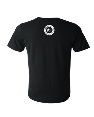 Retro Logo Tee in Black (Unisex)