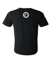 Big Round Logo Tee in Black (Unisex)