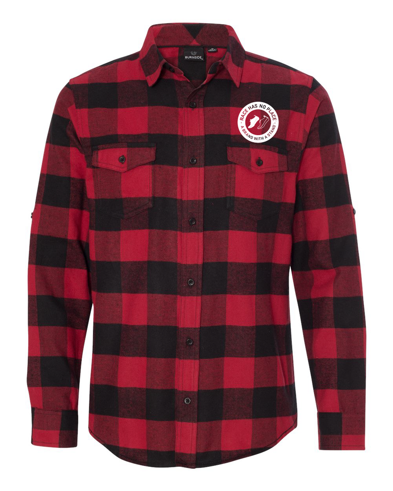Flanel Shirt Red/Black