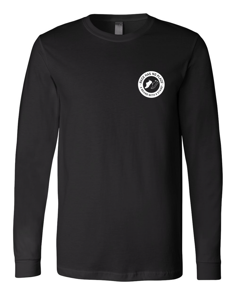 Logo Long Sleeve in Black (Unisex)
