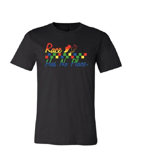 Rainbow Logo Tee in Black (Unisex)