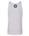 Big Round Logo Tank in White (Unisex)