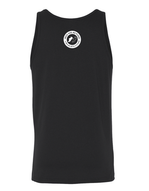 Big Round Logo Tank in Black (Unisex)