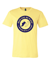 Round Logo Tee in Yellow (Unisex)