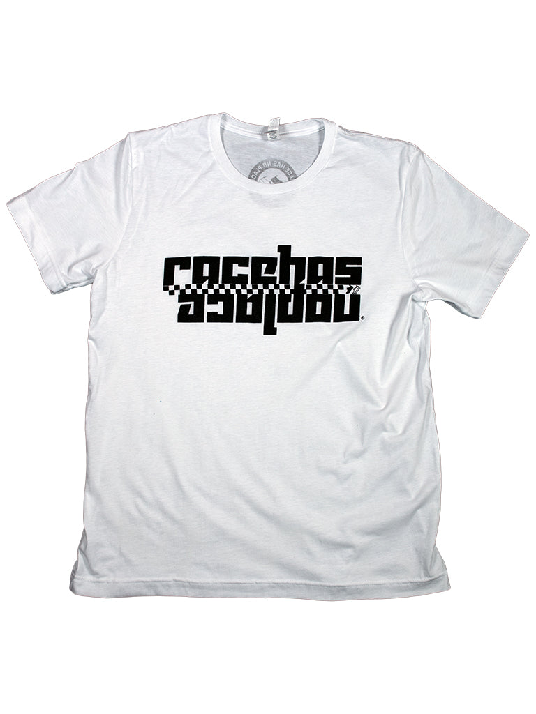 Retro Logo Tee in White (Unisex)