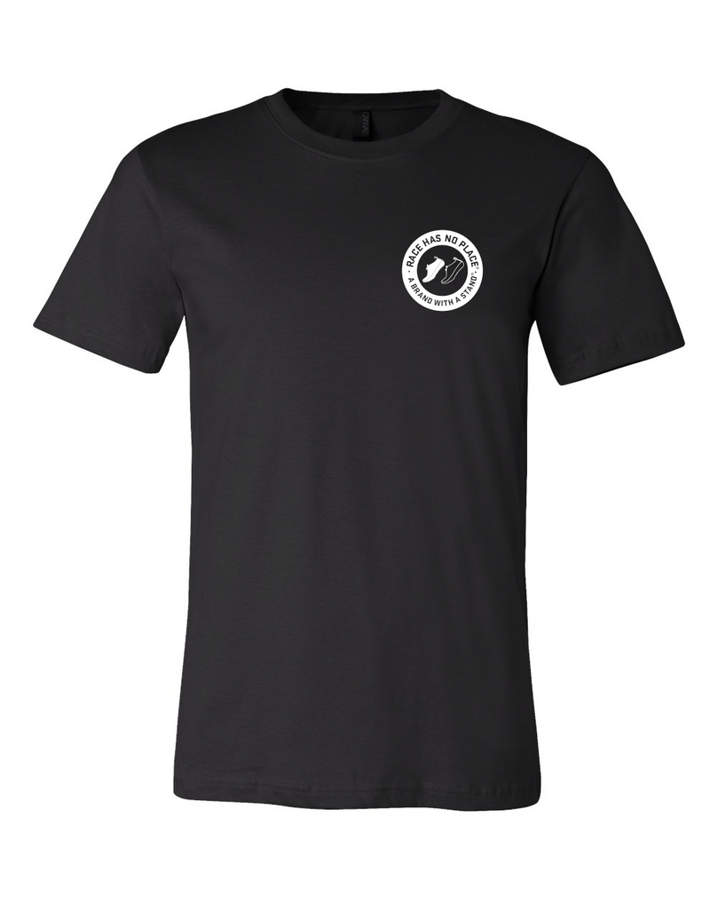 Short Sleeve Logo Tee in Black (Unisex)