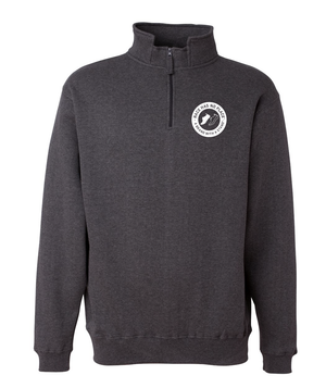 Copy of Logo Quarter-Zip Charcoal Heather  (Unisex)