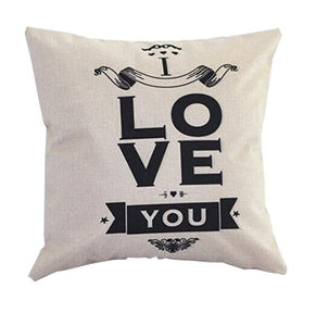 Passion For Romance | Sofa Bed Home Decoration Festival Pillow Case Cushion Cover