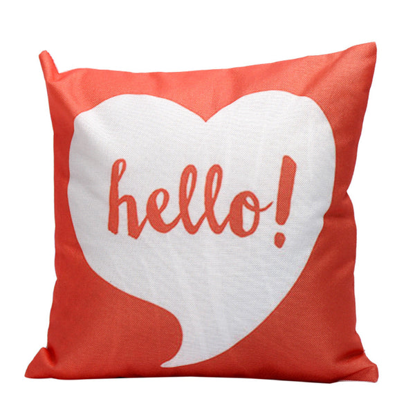 Passion For Romance | Pillow Case Sofa Waist Throw Cushion Cover Home Decor
