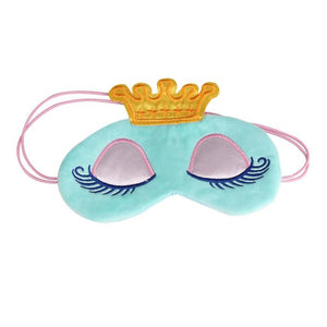 Passion For Travel | Cute Eyes Cover Crown Style Travel Sleeping Blindfold Shade Eye Mask