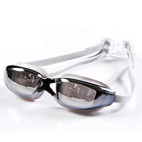 Passion For Sports | Yuke 9011 Ergonomic Unisex Adult Waterproof Anti-fog UV Protective Electroplating Swimming Goggles Glasses
