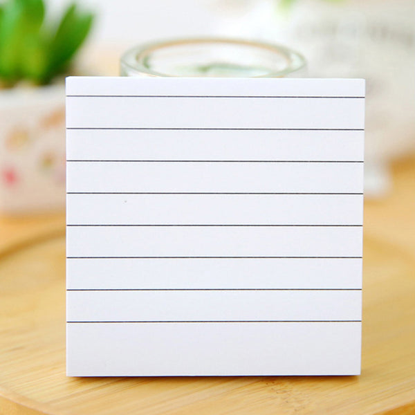 Passion for Work | 10Pad Portable Sticky Notes Memo Self-stick Lined Notepad To Do List Office Supplies
