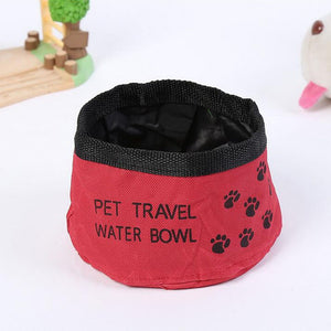 Passion for Pets | Port-A-Bowl Collapsible Travel Dog Food and Water Bowl