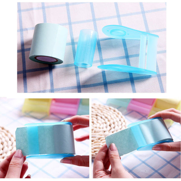 Passion For Work | 1pcs Kawaii Fluorescent Paper Sticker Memo Pad Mini Office Can Tear Sticky Note
