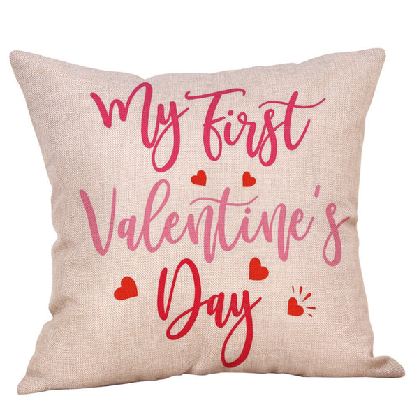 Passion For Romance | 4Pcs Throw Pillow Case Sweet Love Square Cushion Cover
