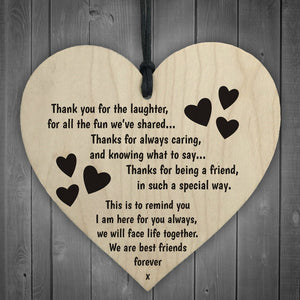 Passion For Giving | Wooden Hanging Gift Plaque Pendant Family Friendship Love Sign Wine Tags Decor