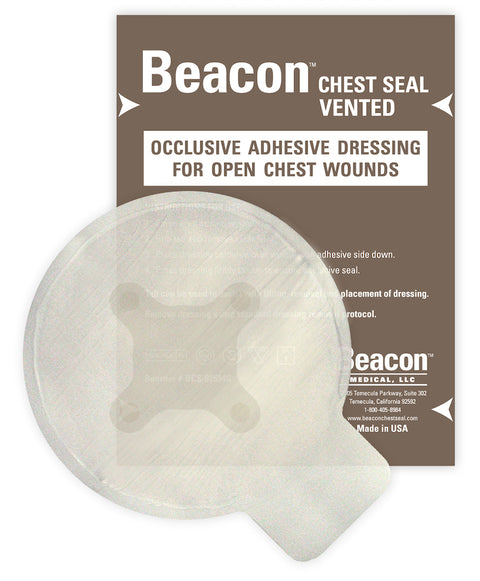 "Beacon Chest Seal (Vented) 6"", Kit Size"