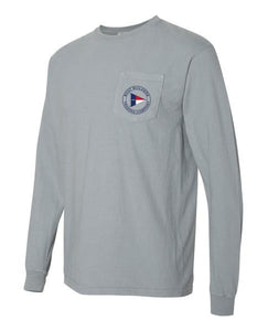 Boat Builders Trading Co. NC Caison Long Sleeve - Salt Grey